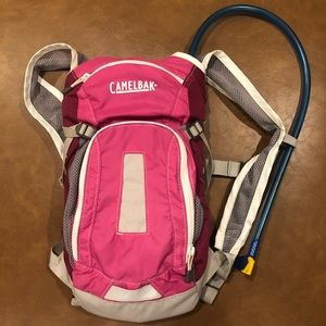 Kids Camelbak Outdoors Hiking Pink Water Backpack